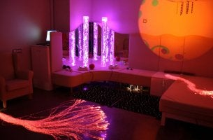 Salas de estimulação multissensorial Snoezelen