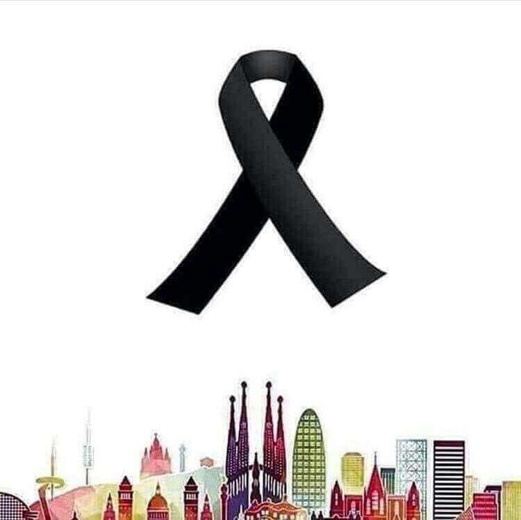Luto por terrorismo em Barcelona
