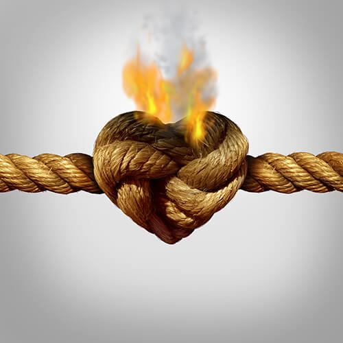 Toda relação tem problemas, mas cabe a nós enfrentá-los