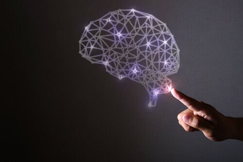 Pontos de luz no cérebro