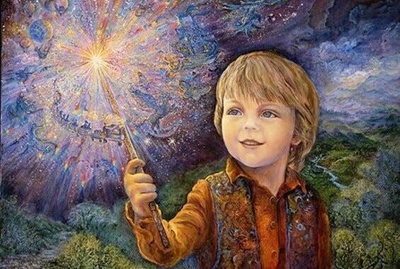 A humanidade renasce em cada criança