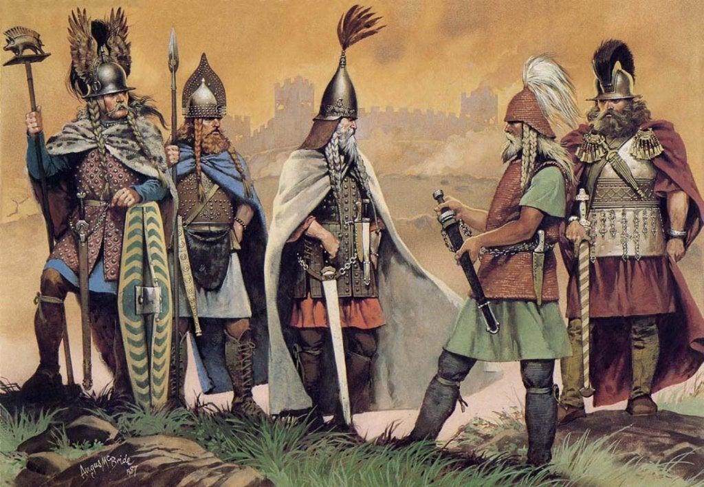 Guerreiros celtas