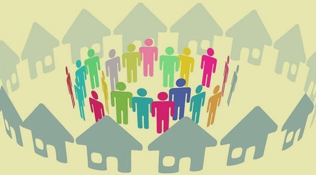 Vida em comunidade com vizinhos difíceis