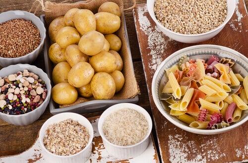 Alimentos fonte de carboidrato