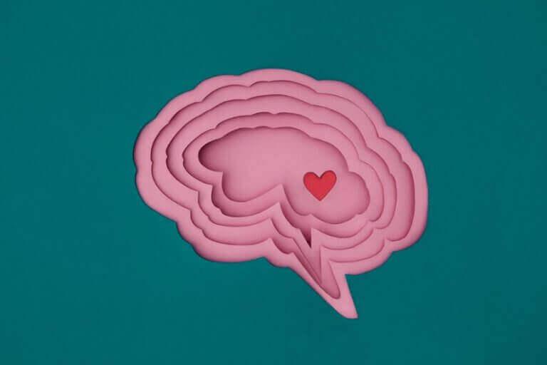 Cérebro com coração dentro