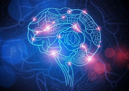 Cérebro de uma pessoa com depressão