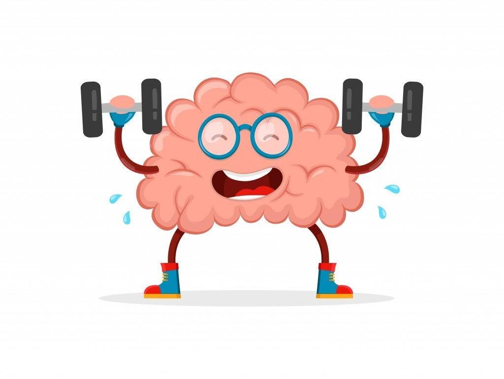 Cérebro se exercitando