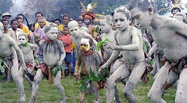 Rituais em Papua Nova Guiné