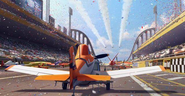 Cena do filme 'Aviões'