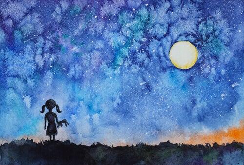 A menina que olhou o céu e descobriu a sua estrela