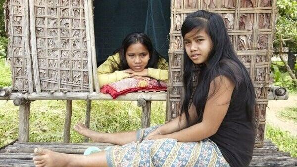 Meninas indígenas
