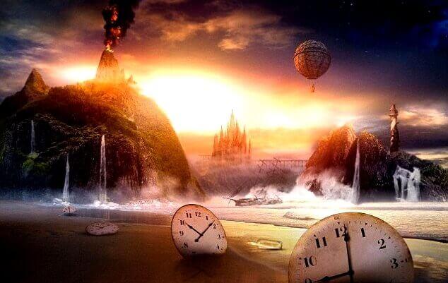 Mundo dos sonhos enquanto dormimos