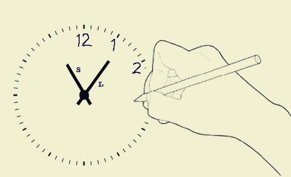 Teste do desenho do relógio para diagnosticar doenças e transtornos mentais