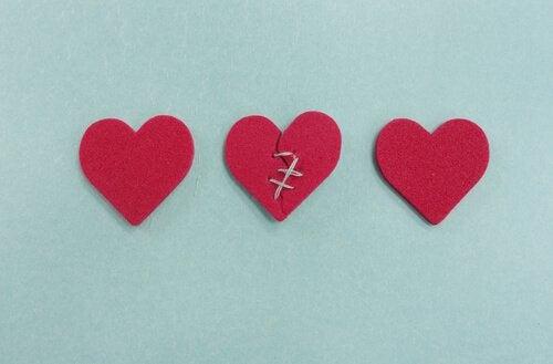 Coração remendado após uma infidelidade