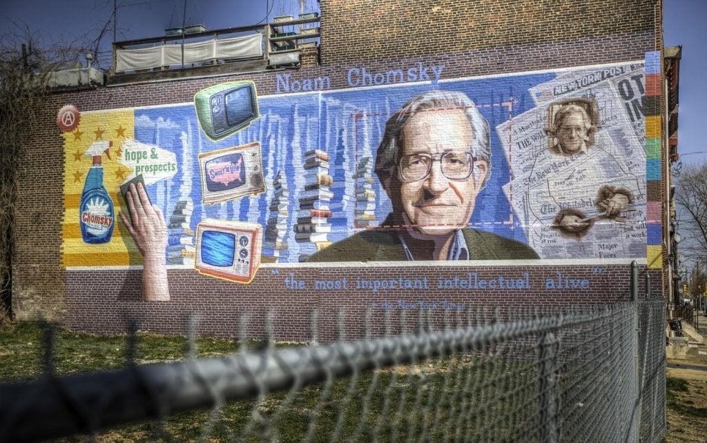 Você conhece Noam Chomsky?