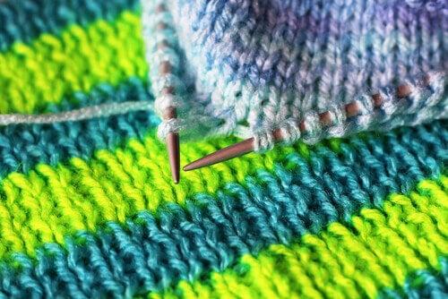 Fazer tricô