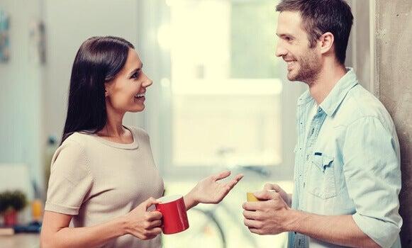 O que acontece no cérebro durante uma conversa positiva?