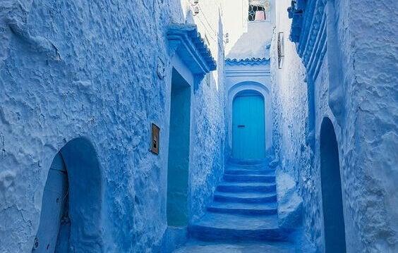 Construções azuis