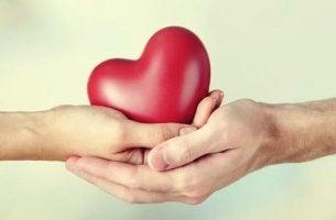 Doadores e recebedores nas relações afetivas