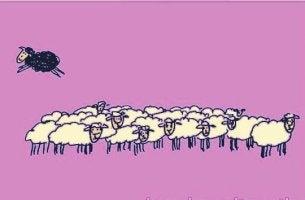 fábula da ovelha negra