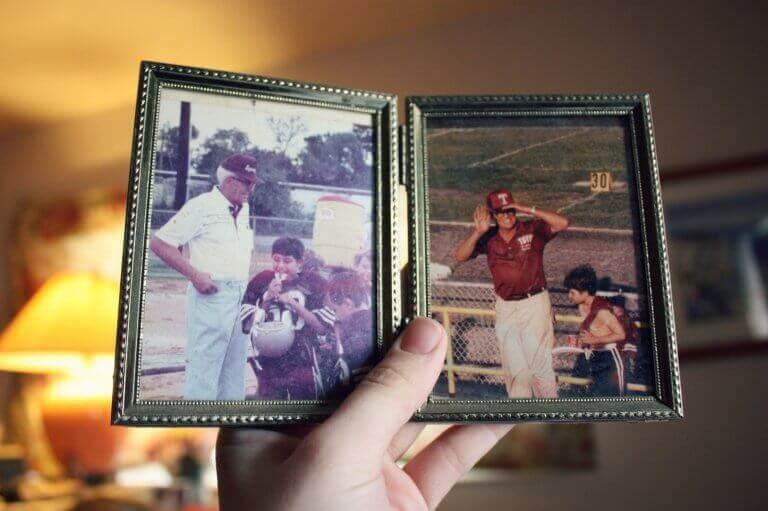 Fotos de neto com seu avô