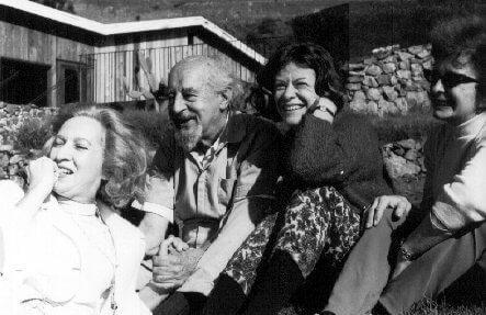 Fritz Perls acompanhado