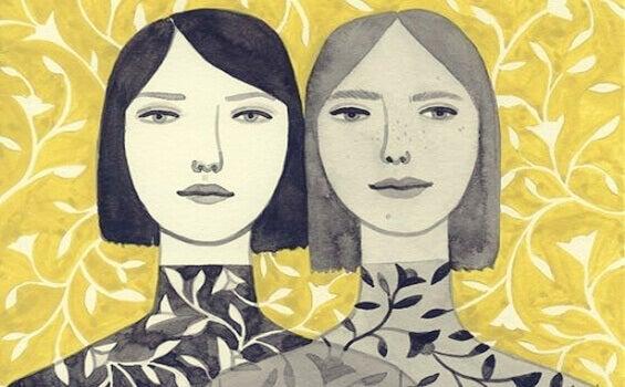 Duas mulheres iguais