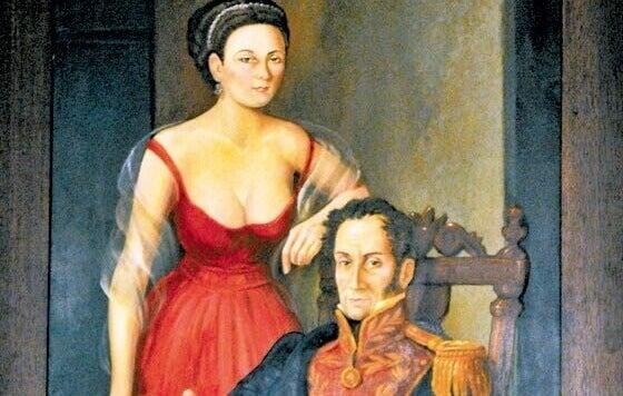 Manuelita e Bolívar
