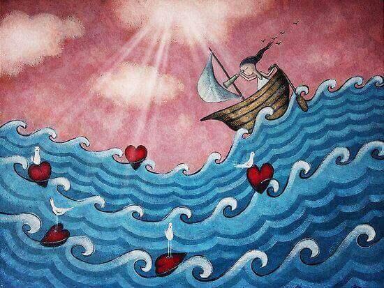 Explorar os mares do amor próprio