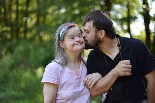 Mulher com síndrome de Down