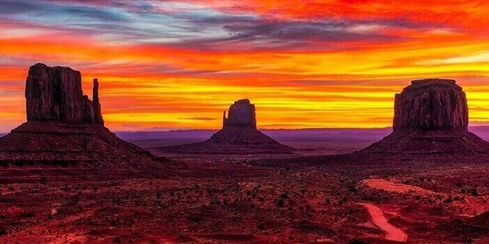 Paisagem de deserto