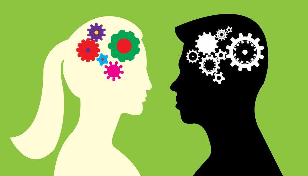 Cérebro feminino e masculino