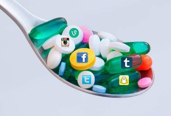 O vício em redes sociais