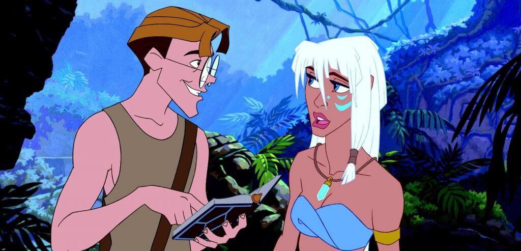 Atlantis, uma preciosa fonte de inspiração para as meninas