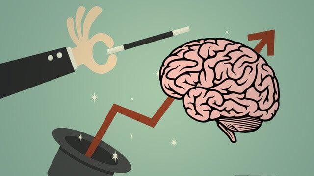 Mágica no cérebro humano
