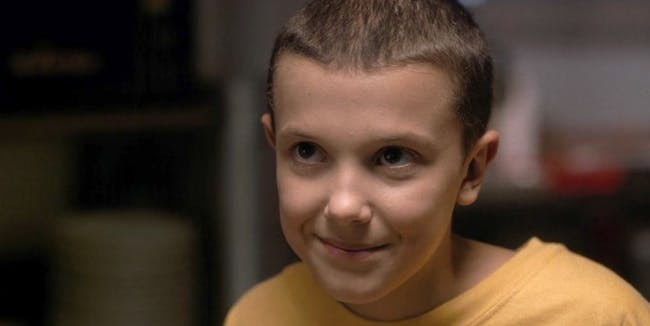 Eleven, personagem de Stranger Things