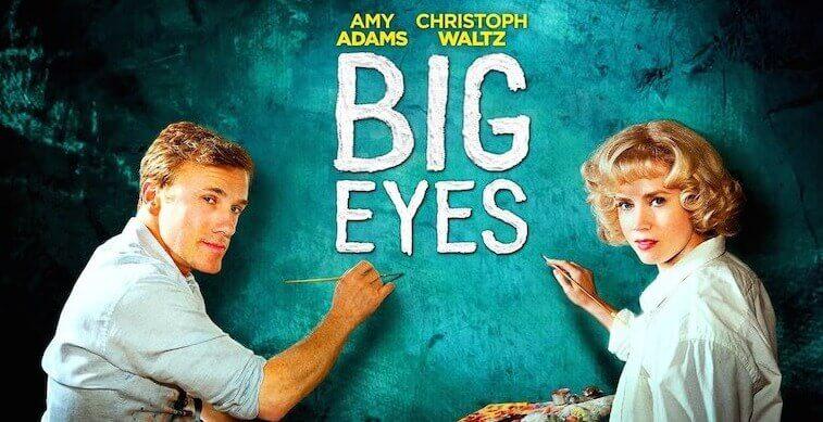 Grandes Olhos, mulheres e o mundo artístico