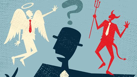 O conflito entre o bem e o mal