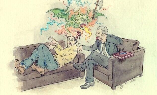 Relação ruim com o terapeuta