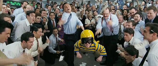 Cena de 'O Lobo de Wall Street'