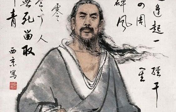 Ilustração de homem japonês