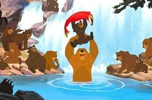 Irmão Urso, um filme que aborda o crescimento pessoal