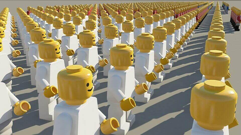 Exército de lego