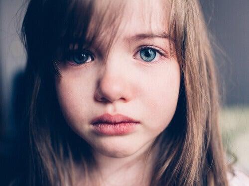 A tristeza nas crianças