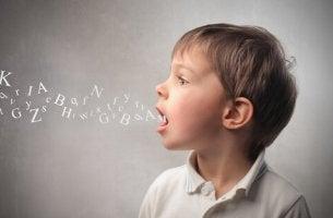 Erros linguísticos mais comuns em crianças com idades entre 3 e 6 anos