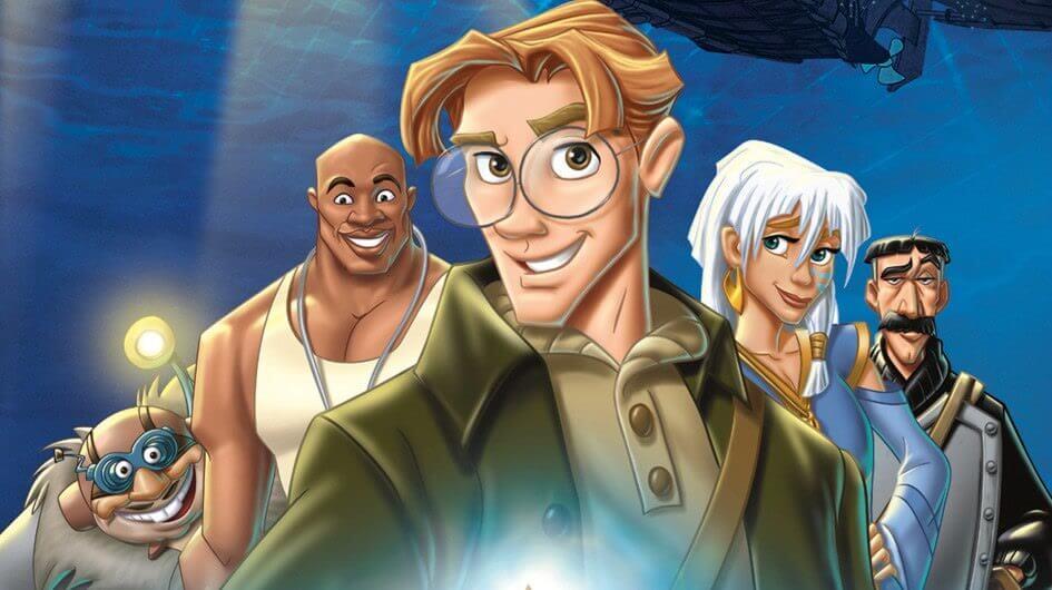 Filme 'Atlantis: o Reino Perdido'