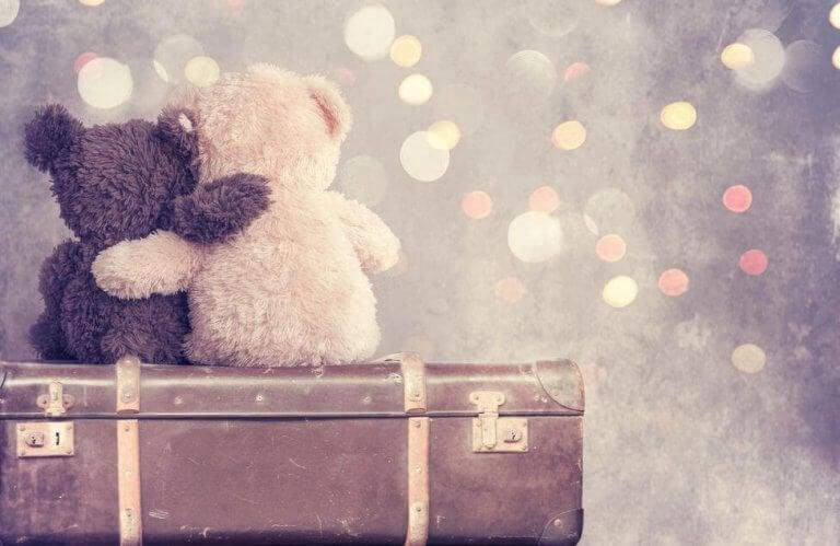 Ursinhos abraçados