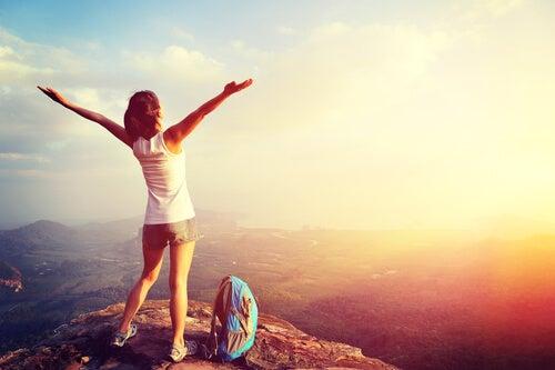 Coragem de viajar sozinha
