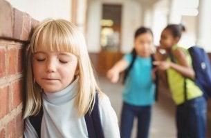 Sinais de que uma criança é vítima de bullying