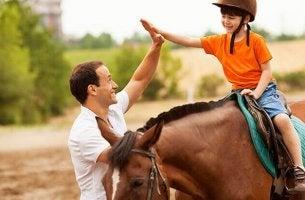 Terapia assistida por cavalos